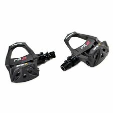 EXUSTAR Lightweight Carbon Road Pedals E-PR2CK ,Come With Cleat Sets , Black