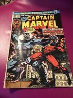 Captain Marvel 33 Bronze Age Ungraded Origin THANOS