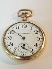 M-5 Gf Pocket watch 1913 Hampden Railway 16s 19j