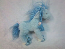 "2005 Ty Beanie Buddies 12"" Blue Horse Plush Soft Toy Stuffed Animal"