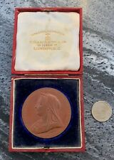Antique 1837 - 1897 Great Britain Victoria Diamond Anniversary Bronze Medal