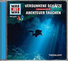 CD * WAS IST WAS - FOLGE 06 - VERSUNKENE SCHÄTZE / ABENTEUER TAUCHEN # NEU OVP !