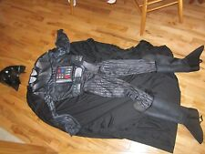 RUBIE'S STAR WARS Halloween Costume Adult Small DARTH VADER Musculed Chest New