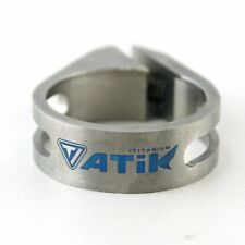 TOKEN ATIK Titanium Seatpost Clamp, 31.8 mm, Road Bike, Light AT1271
