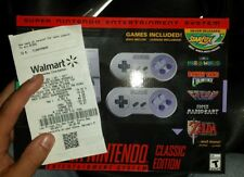 SNES Classic Edition, Super Nintendo Mini System Console, BRAND NEW IN HAND