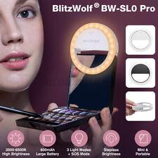 BlitzWolf BW-SL0 Pro LED Ring Light 800 Lumen Clip-on Fill Light Selfie Lights