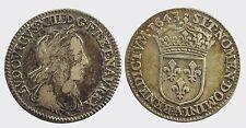FRANCIA - LUIGI XIII 1610-1643   -AG/ LUIGINO 1643 PARIGI PARIS
