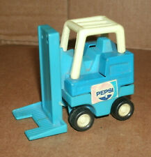 1/43 Scale Buddy-L Pepsi Forklift Toy - Vintage 1980's Pressed Steel Play Model