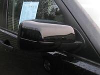 SANTORINI BLACK FULL door MIRROR COVERS for Range Rover L322 Vogue painted caps