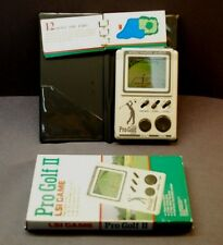 Pro Golf 2 LSI Game. Electronic Handheld Game 1988. BANDI  Tested And Works.