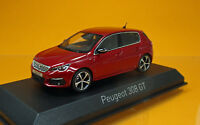 Norev 473815 Peugeot 308 GT - Ultimate Red - Rot - Modell 2017 - Scale 1/43