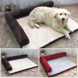 S/M/L/XL Soft Warm Orthopedic Pet Dog Memory foam bed mat With Removabl * !