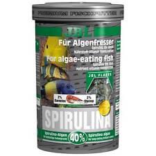 Jbl Premium Spirulina Copos 1000ml 1L-Alimento Para algas comer pescado y camarones