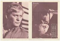 FIRST DAY OF FREEDOM PIERWSZY DZIEN WOLNOSCI Orig. RARE EXYU Movie Program 1964