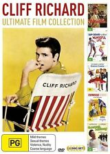 Cliff Richard Ultimate Film Collection (DVD, 2017, 5-Disc Set) BRAND NEW SEALED