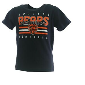 Chicago Bears Official NFL Team Apparel Youth Kids Size T-Shirt New with Tags