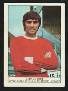 NABISCO foods LTD  1970 Football GEORGE BEST Manchester United NORTHERN IRELAND
