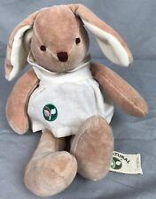 "9"" Hosung My Natural 100% cotton Bunny Rabbit w/Dress plush stuffed animal"