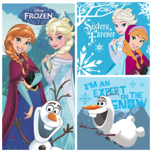 Frozen Anna Elsa Beach Towel 70x140cm Anna Elsa Olaf Face Towel Cloth 30x30cm