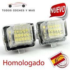 PLAFON LED MATRICULA MERCEDES 2011- W204 W212 W216 W221 W207 HOMOLOGADO E4 LUCES