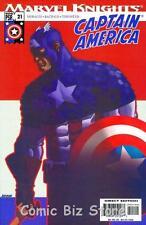 CAPTAIN AMERICA VOL. 4 #21 (2004) 1ST PRINTING MARVEL KNIGHTS COMICS