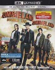 ZOMBIELAND DOUBLE TAP 4K ULTRA HD & BLURAY & DIGITAL SET with Woody Harrelson