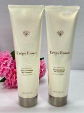 2 Crepe Erase Body Smoothing Pre-Treatment 10 oz each Sealed