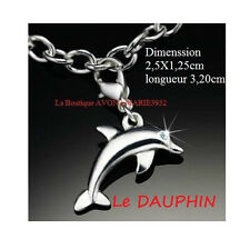 NEW DAUHIN CHARM breloque Bracelet argenté AVON NEUF