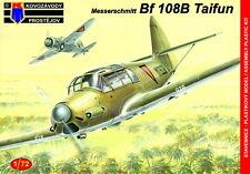Kovozavody Prostejov 1/72 Model Kit 7282 Messerschmitt Bf-108B Foreign Service