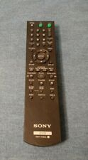Oem Genuine Sony Rmt-D185A Remote Control Tested