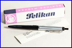 Pelikan R15 BLACK & STEEL ballpoint pen from approx 1959