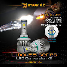Stark 80W 9000LM Flip COB Chip LED Kit 6000K 6K Headlight - 9006 HB4 (B)