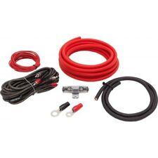 SISTEMA AUDIO Set di cavi 10mm OFC POWERKABEL RAME 99,9%verstärkeranschlußset