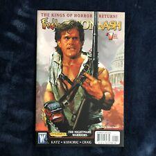 Freddy Vs Jason Vs Ash 1 Nightmare Warriors Wildstorm Comics 2009 Ash Cover