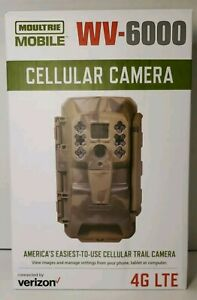 Moultrie-Mobile Cellular Verizon 4G LTE Integrated-Game Trail Camera-WV-6000