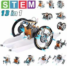 New ListingSolar Robot Toys Stem Toys 13 in 1 Science Kits for Kids Diy Educational Learnin