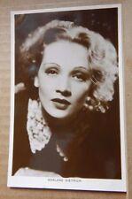 Vintage film star postcard / lobby card Marlene Dietrich