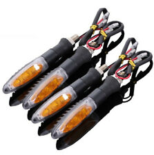 4x universal motorcycle bicycle 3 LED flash turn signal indicator 12V 1set