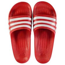 NEW Adidas Unisex  Duramo Sliders Flip Flops RED  SIZE FROM 3-12 Limited edition
