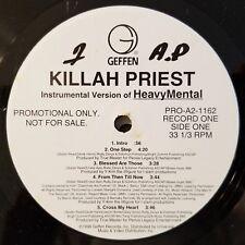 1998 - KILLAH PRIEST - HEAVY MENTAL 2XLP LOT - INSTRUMENTALS & AIRPLAY PROMOS