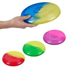 Kids Glitter Flying Disk Frisbee Family Toy Outdoor Summer Beach Game Play Fun