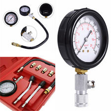 Auto Motor Professional Petrol Gas Engine Cylinder Compression Tester Gauge Kits