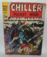 Chiller Pocket Book, Comic, Marvel Digets Series no'6, 15p. Tomb Of Dracula. PB