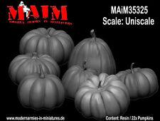 MAiM 1/16, 1/24, 1/35, 1/48 Pumpkins (22 Resin Pumpkins)
