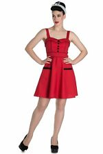 Hell Bunny Vanity Dress Red PLUS SIZE SUMMER DRESS 18 20 22