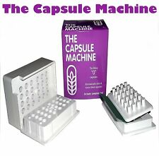 """0"" THE CAPSULE  MACHINE Filling Filler POWDER HERBS VITAMINS PILLS MEDICATION"
