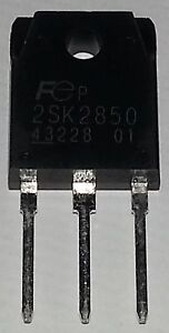 1 pc. 2SK2850  N-Channel Power Mosfet  900V 6A  1,87R  TO3P  FUJI  NEW   #BP