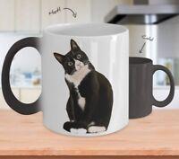 Color Changing Mug - Cute Cat Coffee Mug  -11oz Coffee Mug Tea Cup Gifts