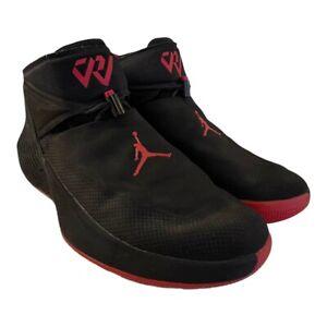 Nike Mens Jordan Why Not Zero.1 AA2510-007 Black Red Basketball Shoes Size 11.5