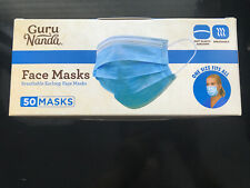 NEW  Guru Nanda / MG 50 ct Face Masks - MFD 06/2020
